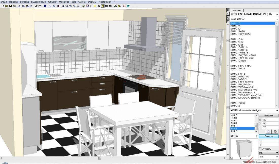Как сделать дизайн-проект кухни самому +75 фото