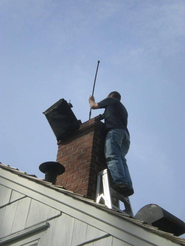 Как прочистить дымоход - советы по методике и применению средств для очистки