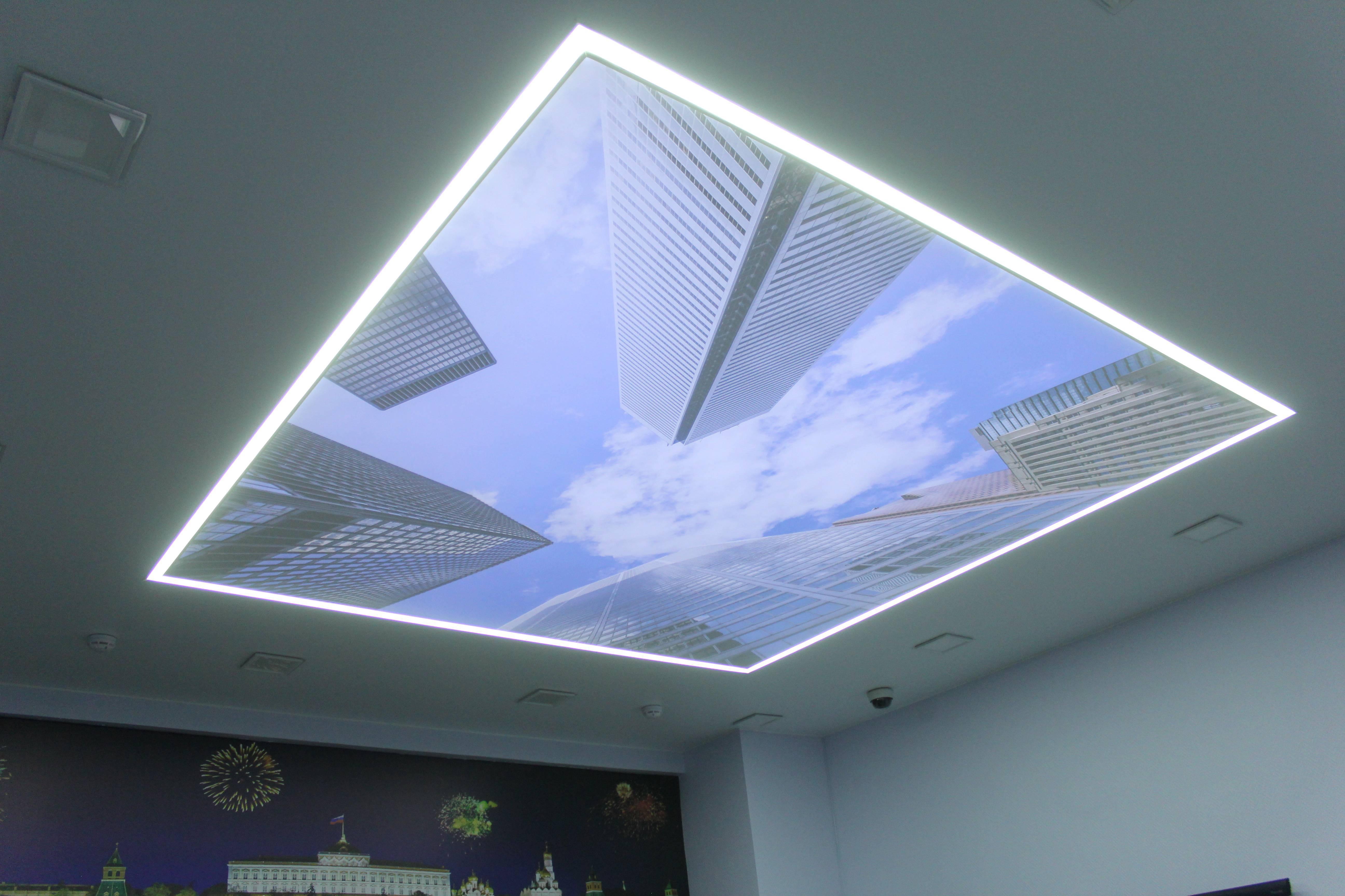 Выбор профиля для парящего натяжного потолка, тонкости монтажа конструкций