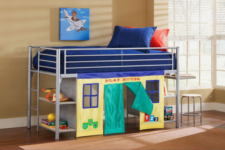 Описание кроватей-чердаков для детей от 3 лет