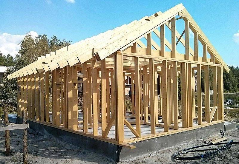 Можно ли строить каркасный дом зимой?
