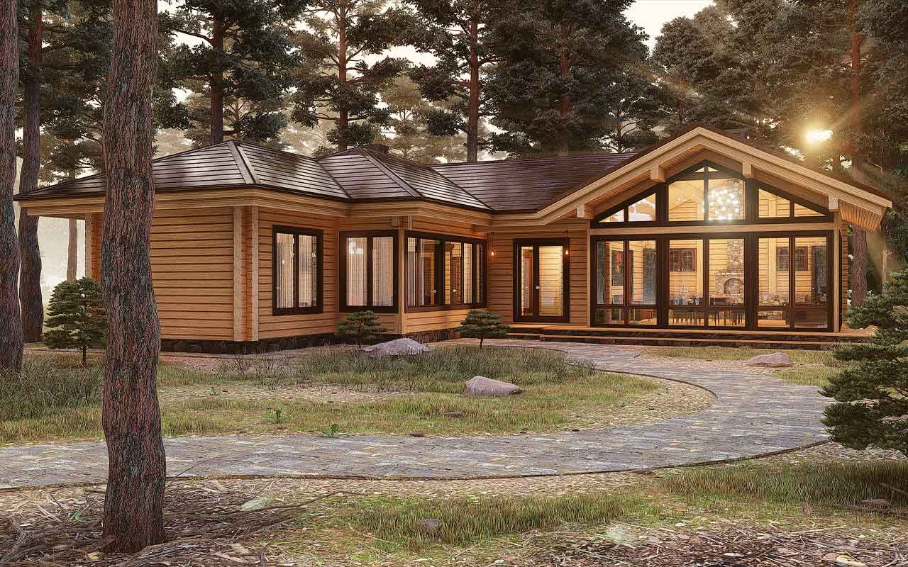 Финские дома: проекты финских домов, особенности технологии
