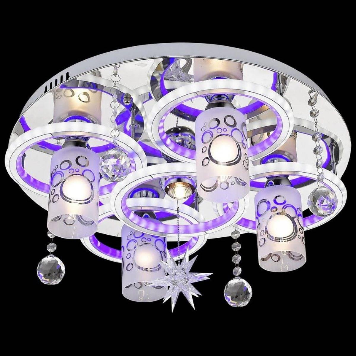 Светодиодная люстра для дома, фото, выбор и установка