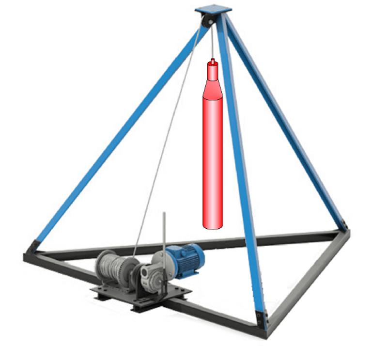 Буровые установки своими руками: чертежи самодельных бурильных установок для водяных скважин. как сделать малогабаритную модель для бурения?