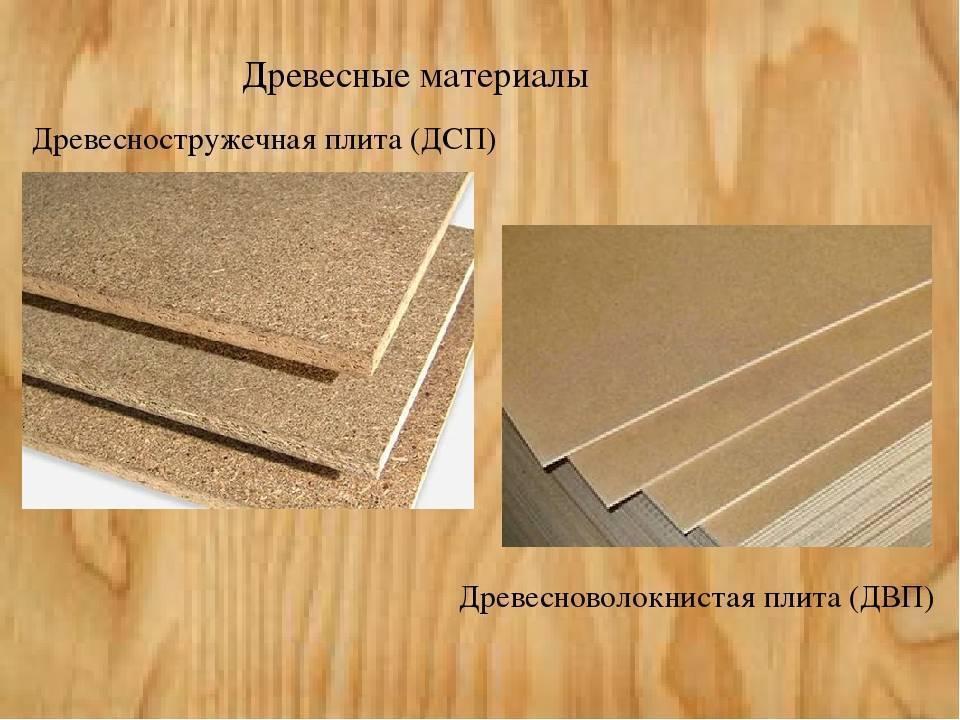 Древесные плиты: разновидности, характеристика и применение