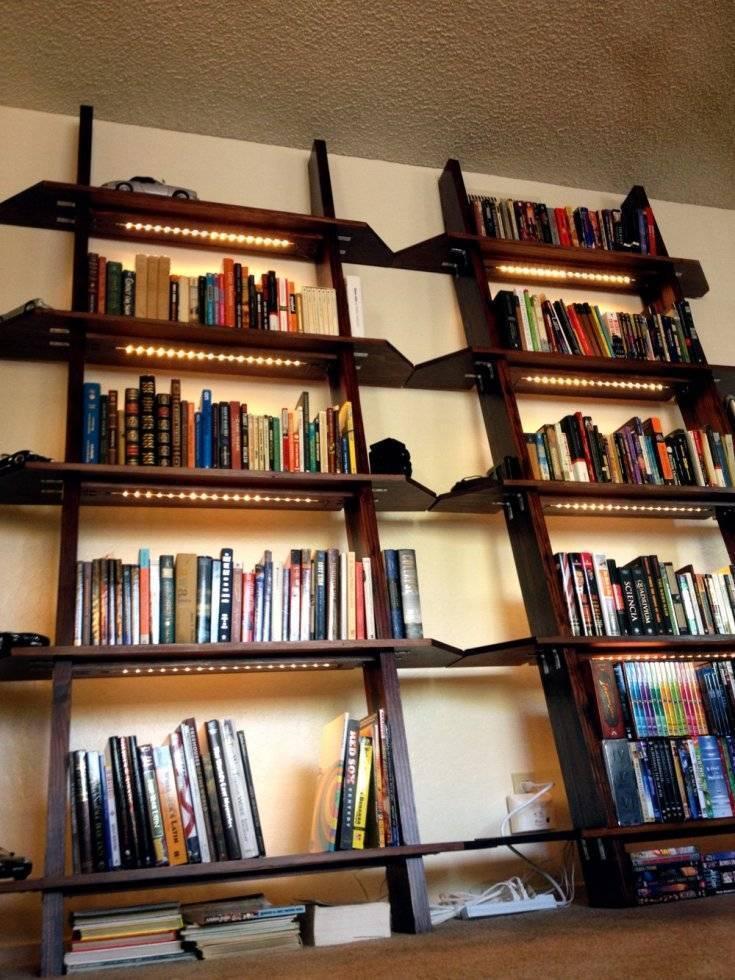 Как сделать полки для книг своими руками: чертежи и пошаговые фото. настенные полки, напольные, переносные, полка для книг монтессори