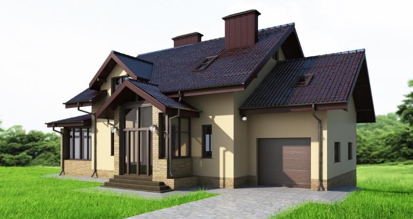 55 идей двухэтажных домов: фото, чертежи (проекты 2019)