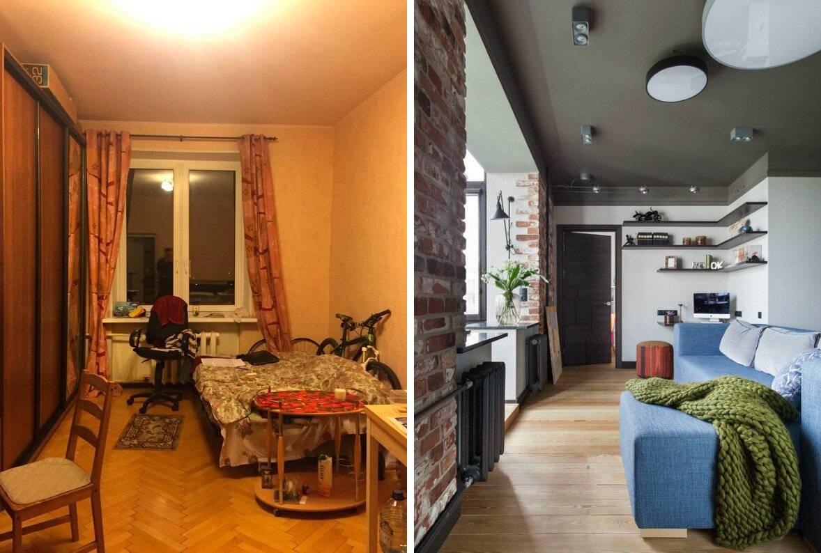 Перепланировка 3-х комнатной квартиры в хрущевке: тонкости согласования и 35 примеров