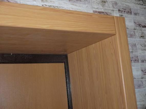 Монтаж дверных откосов из мдф