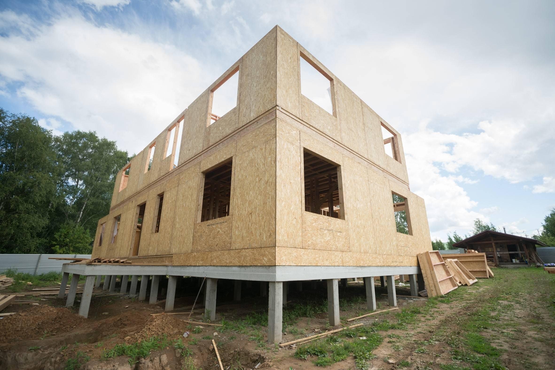 Как построить фундамент под дом из пеноблоков?