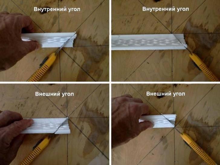 Как сделать уголки для потолочного плинтуса своими руками: фото и видео-инструкция от мастеров и практиков