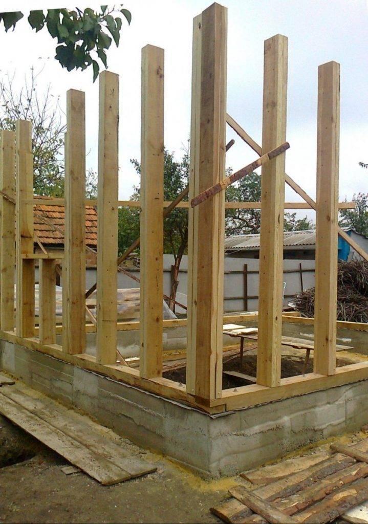 Какие материалы нужны для постройки каркасного дома и сколько