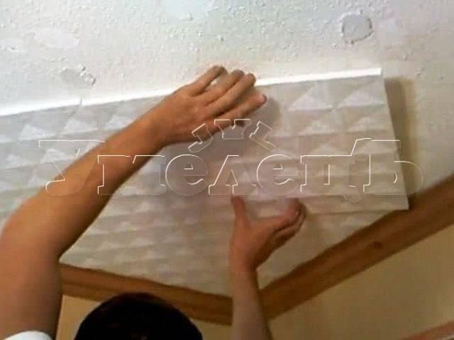 Как и чем покрасить потолочную плитку краской: водоэмульсионная, акриловая краска для потолочной плитки