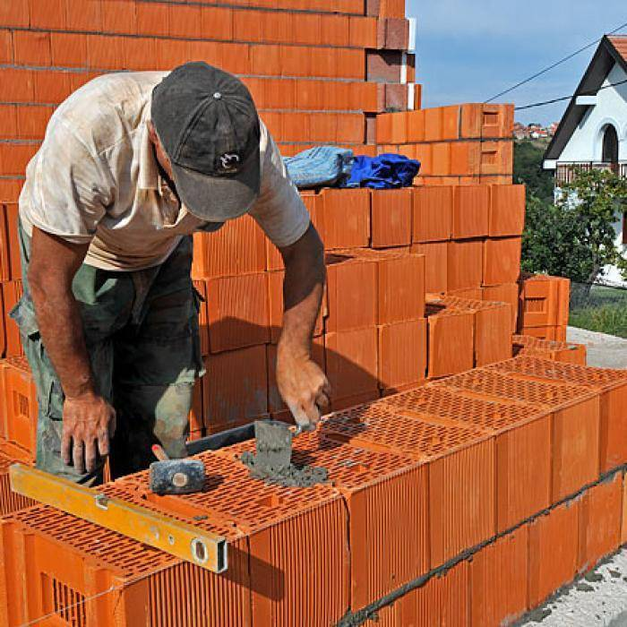 Как выбрать фундамент для стен из керамических блоков porotherm?