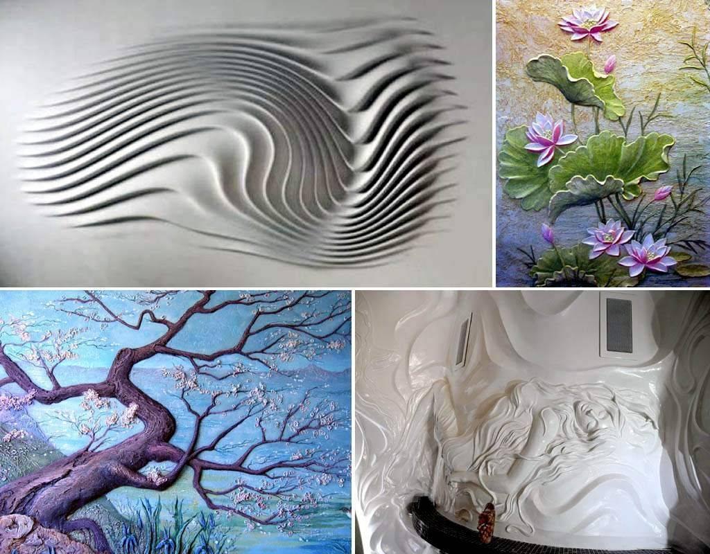 Изготовление барельефов (34 фото): создание своими руками из гипса, шпатлевки и других материалов в домашних условиях. пошаговая инструкция