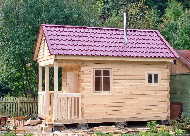 Летний домик своими руками – основные этапы строительства и оформления (95 фото)