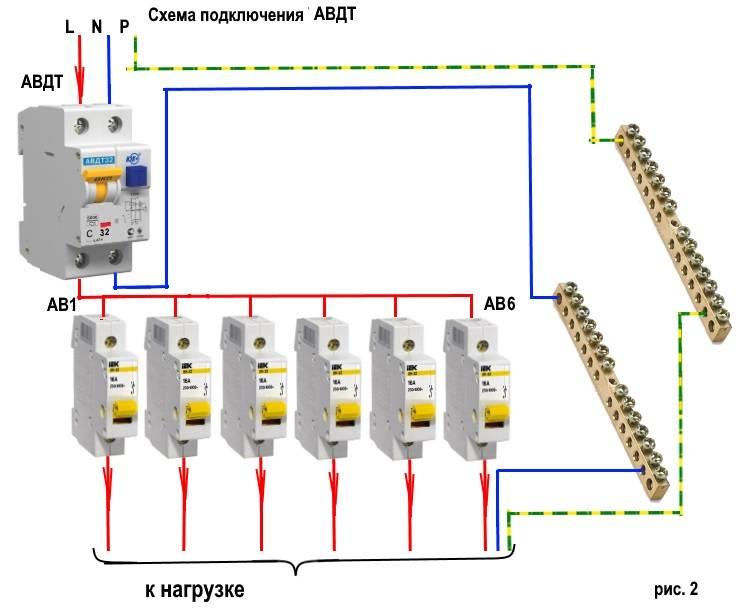 Дифференциальный автомат (дифавтомат): принцип работы, виды, выбор, подключение