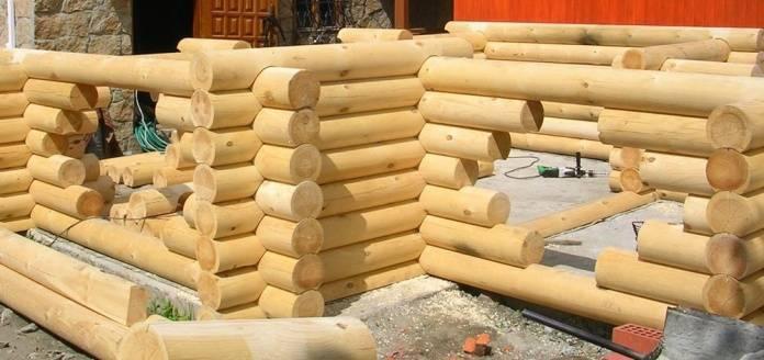 Строительство домов из калиброванного профилированного бруса