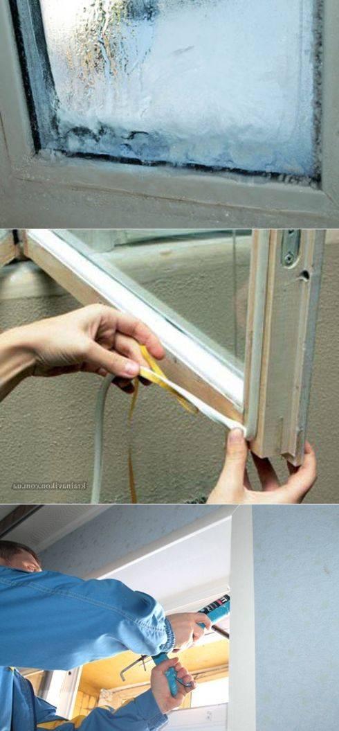 7 советов, как утеплить пластиковые окна своими руками