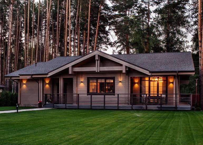 Проекты финских деревянных домов и коттеджей