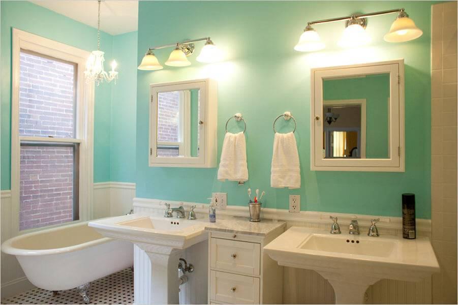 Краска для ванной - 115 фото примеров как лучше покрасить ванную