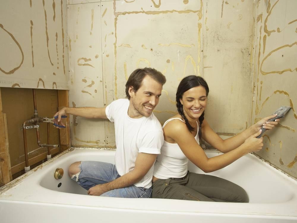 С чего начать ремонт в ванной комнате - пошаговая инструкция + видео