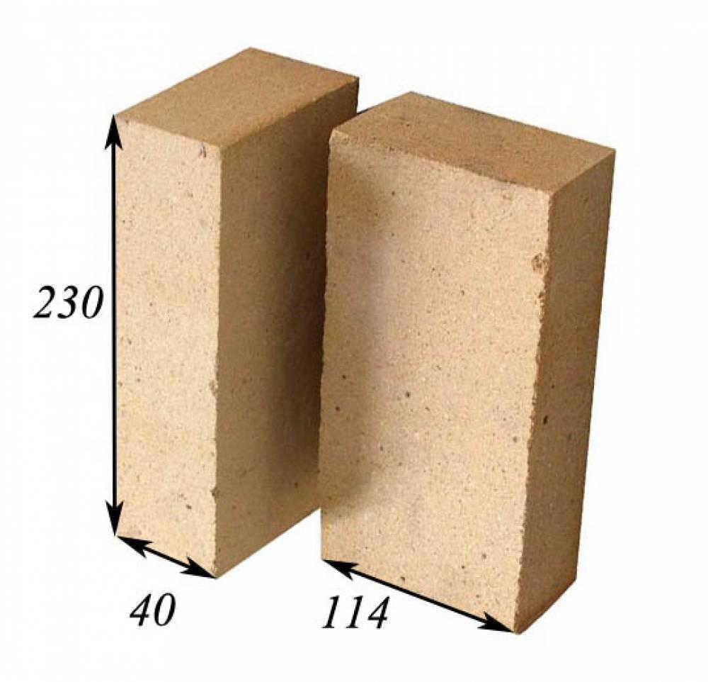Размеры кирпичей по госту