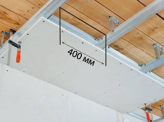 Можно ли прикрепить гипсокартон к деревянному потолку без профиля