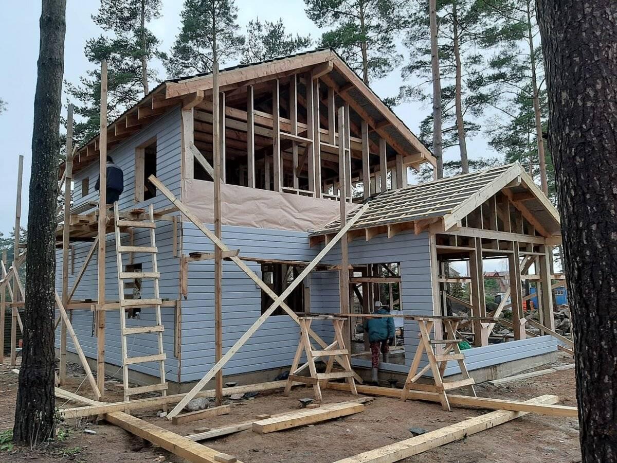 Финская технология строительства каркасных домов своими руками