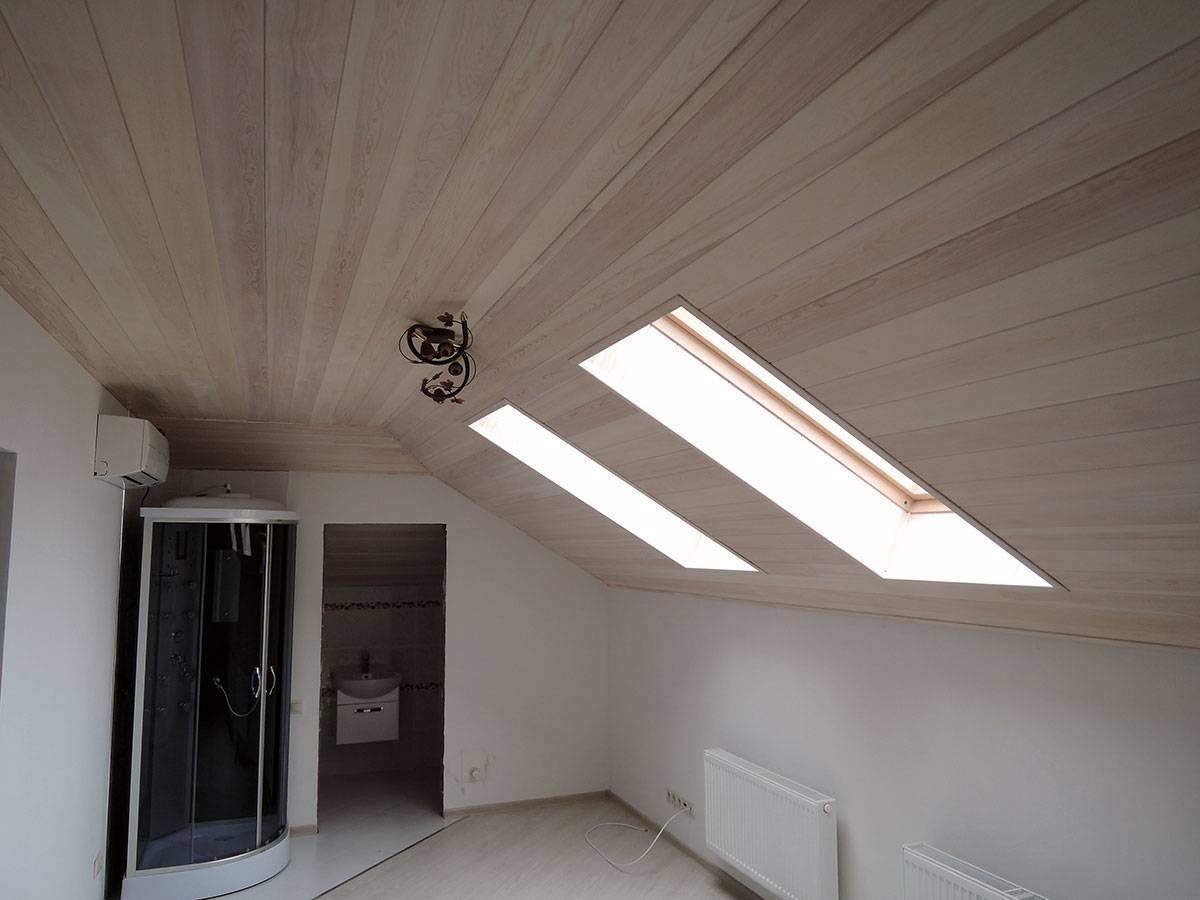 Деревянная вагонка для потолка: характеристики, свойства, виды
