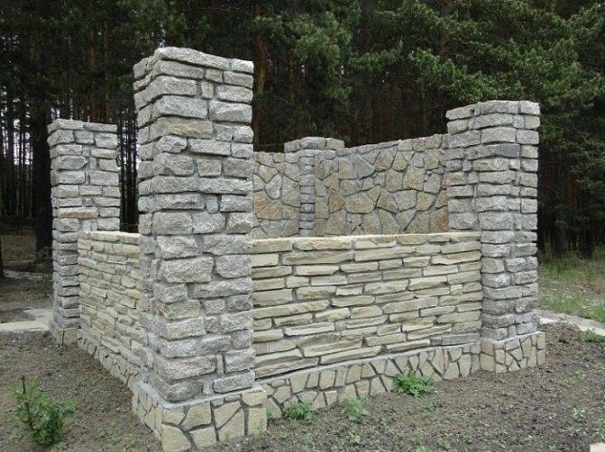 Беседки из блоков: как построить своими руками из шлакоблоков или газосиликатных блоков