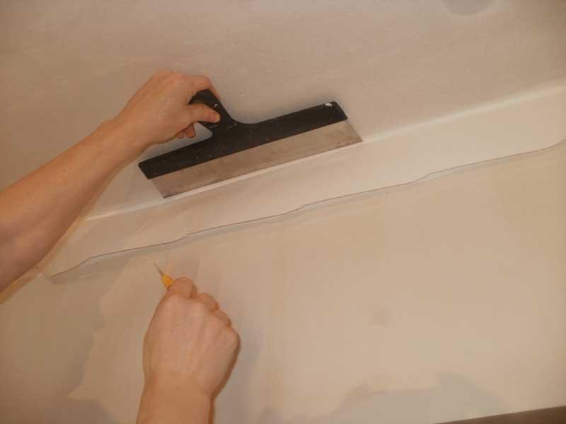 Как выбрать стеклохолст на стены: что это, как клеить, технология покраски