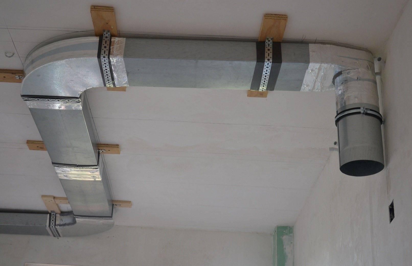Для чего нужна вентиляция в натяжном потолке, и как сделать ее своими руками