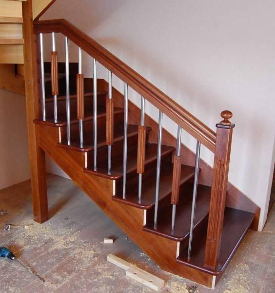 Лестница на второй этаж на даче своими руками – выбор, расчет, монтаж, 28 фото