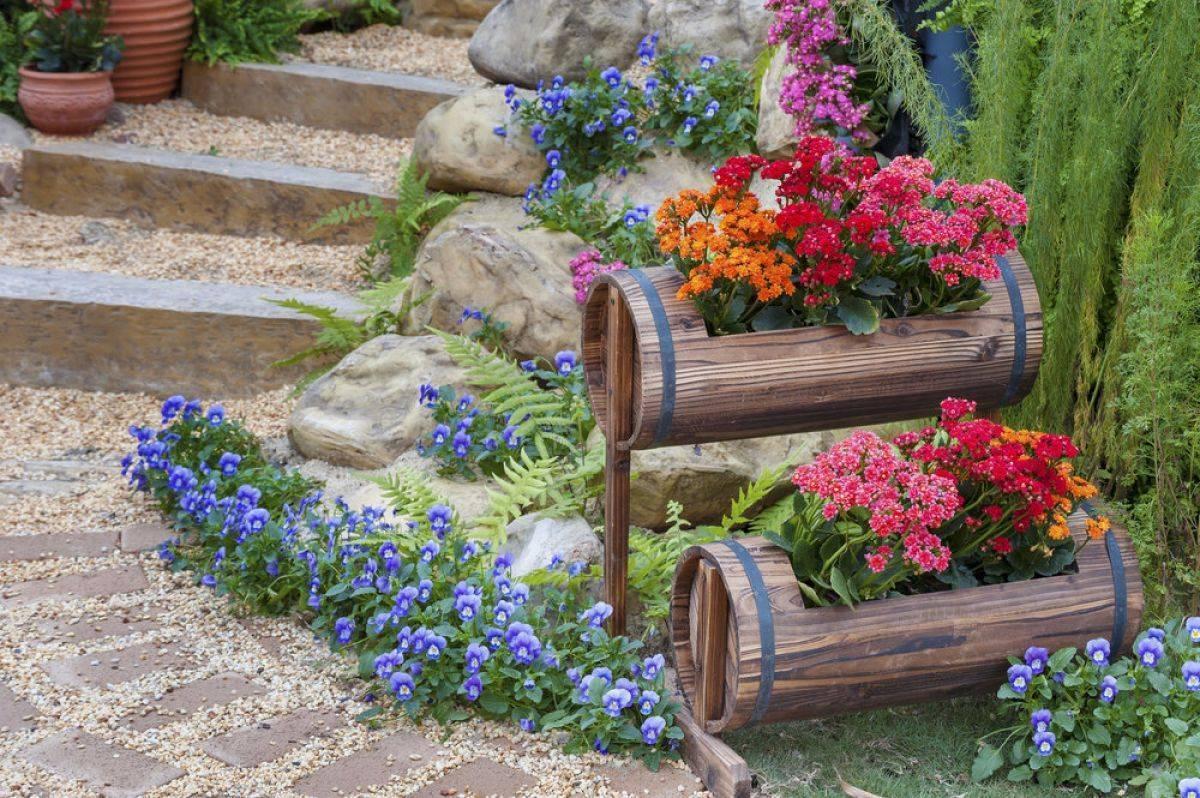 8 основных видов цветников