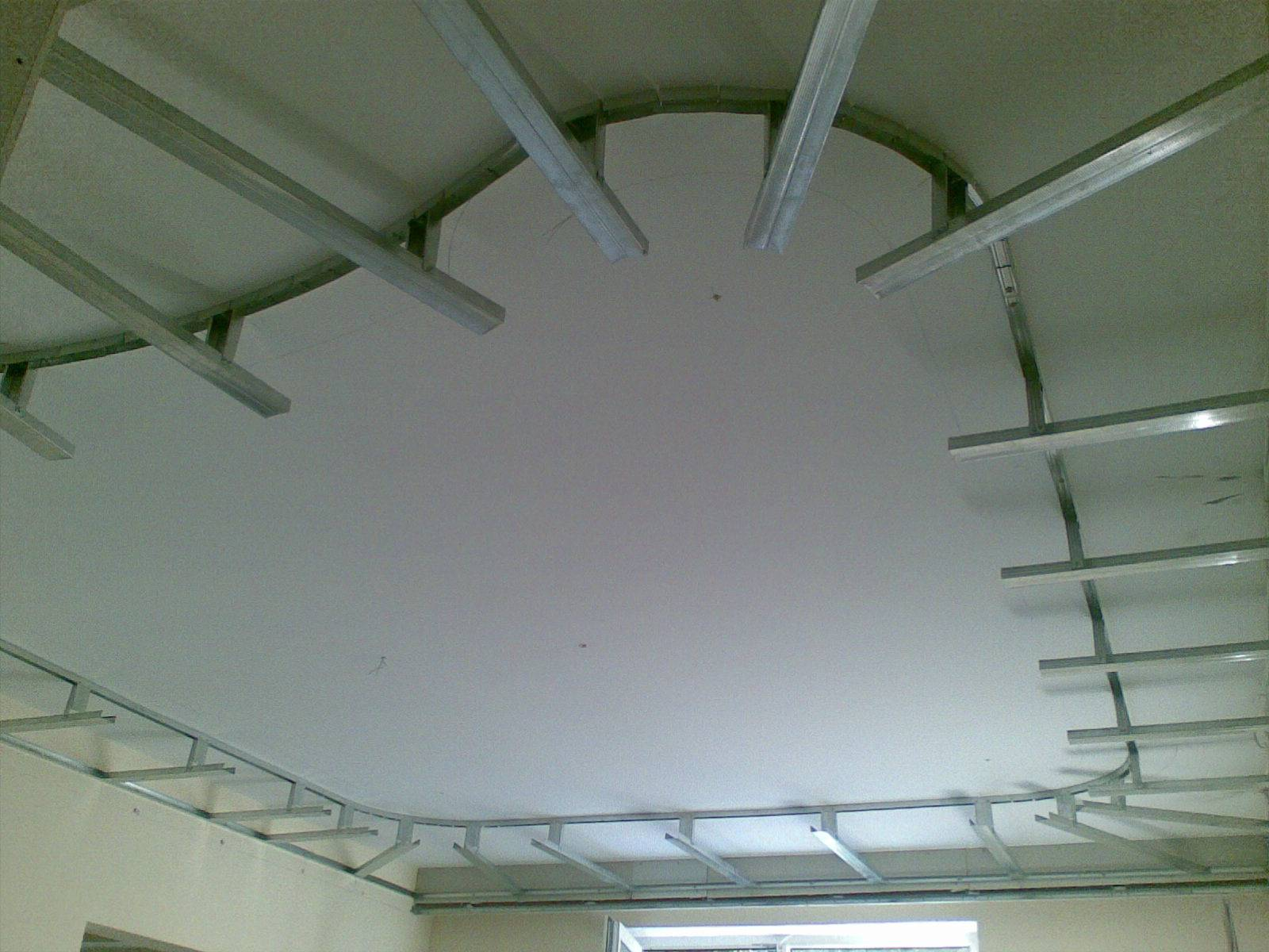 Монтаж двухуровневого потолка из гипсокартона своими руками, подробная инструкция с фото и видео
