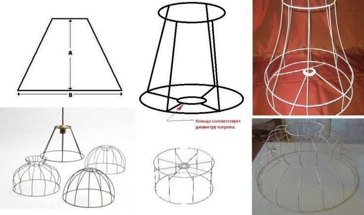 Как обновить абажур для торшера своими руками: из чего сделать плафон для светильника