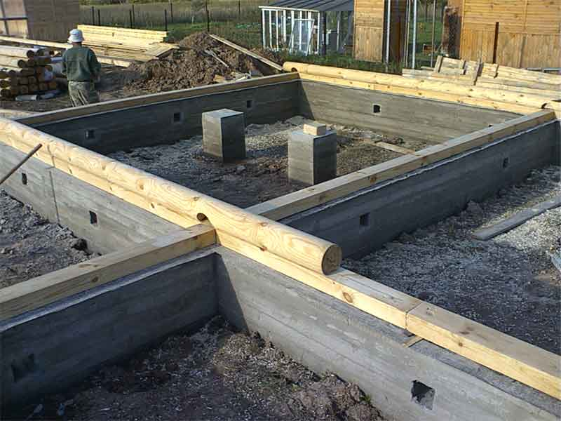 Гарантия долгого срока службы: выбираем фундамент для деревянного дома из бруса