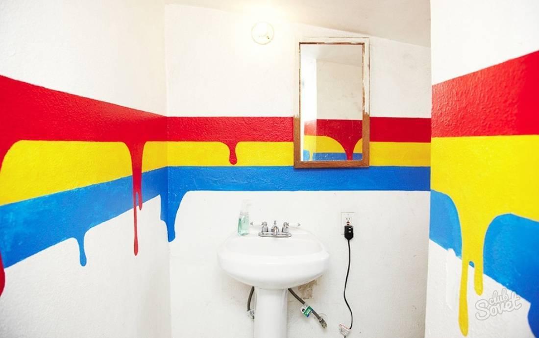 Краска для плитки в ванной: чем лучше красить?