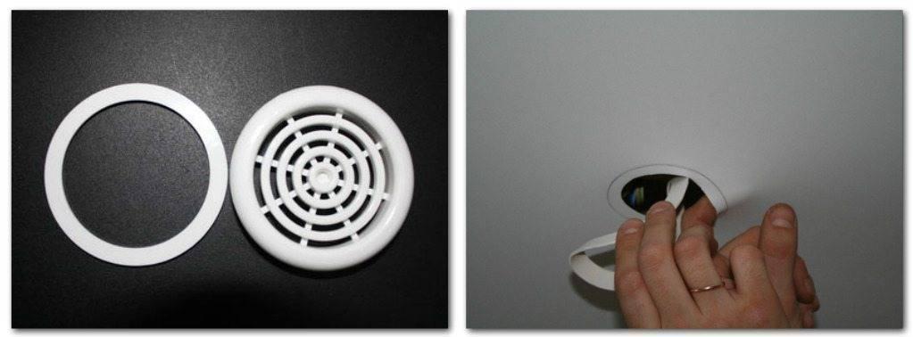 Вытяжка под натяжным потолком — на кухне и ванной