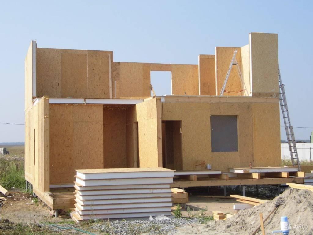 Сип панели в канадской технологии домостроения: преимущества и недостатки материала (фото)