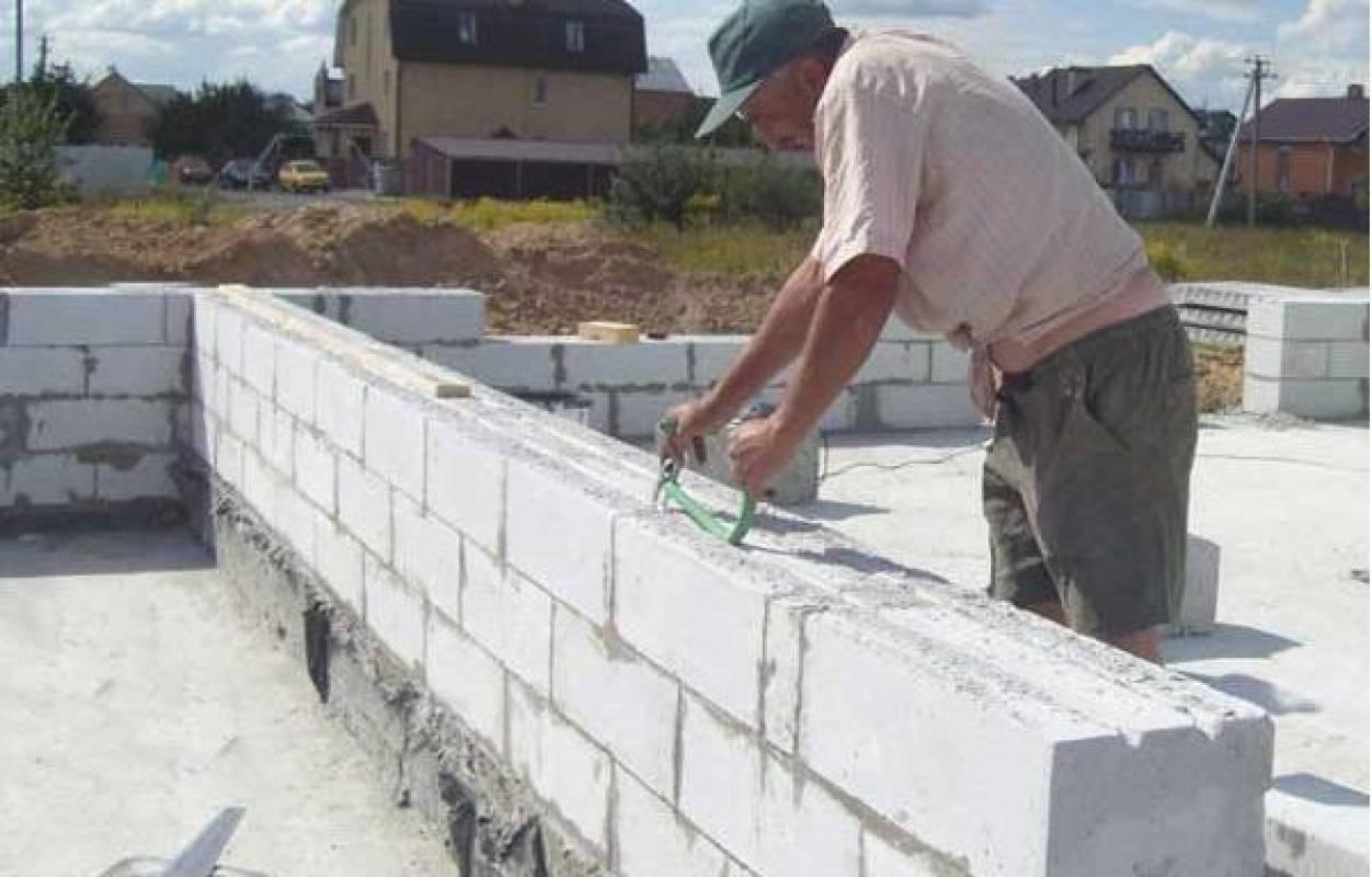 Дома из газосиликатных блоков своими руками: строительство, фото, видео