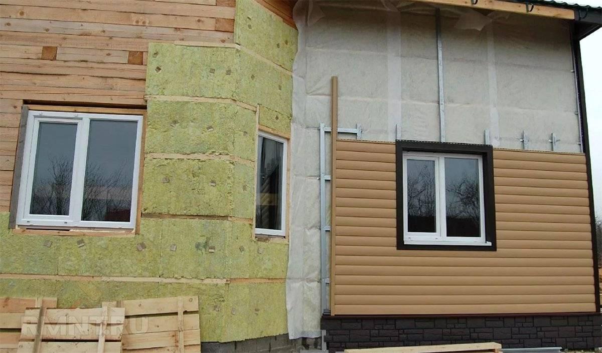 Как и чем обшить дом из бруса снаружи?