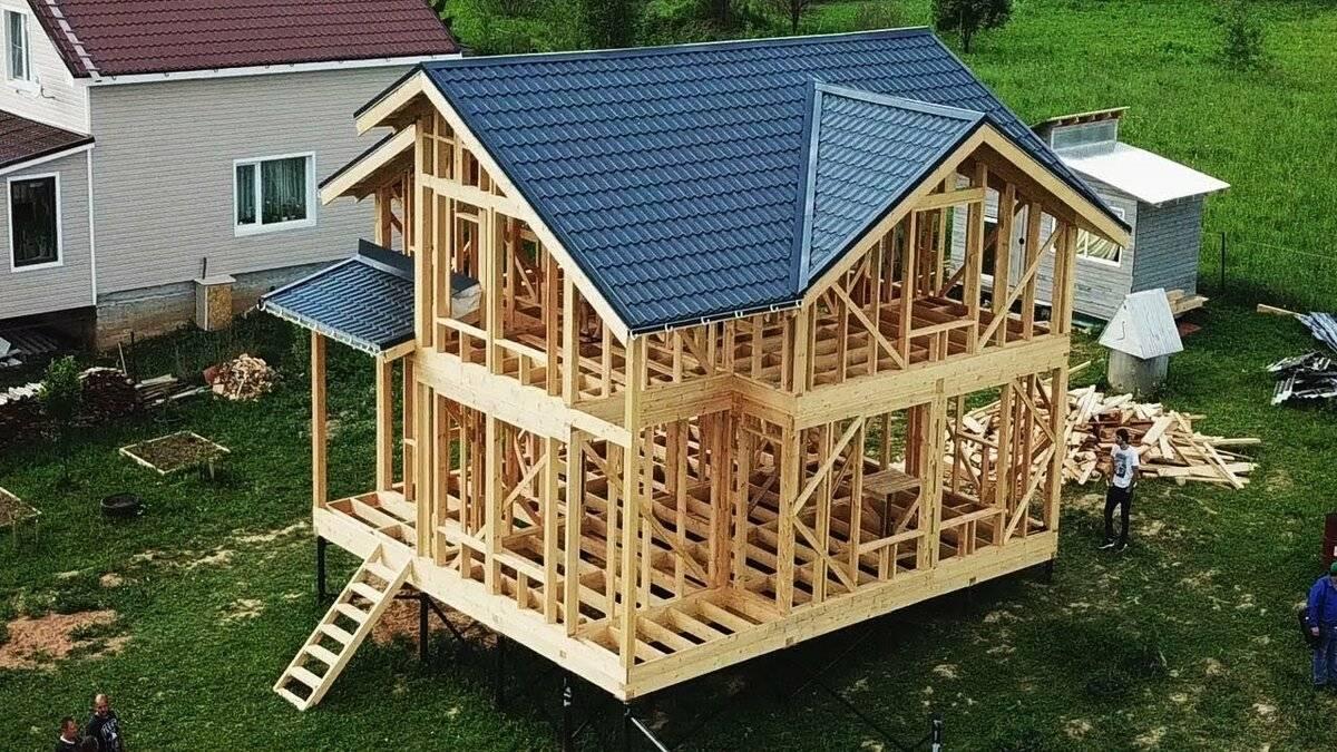 Основные ошибки строительства каркасных деревянных домов