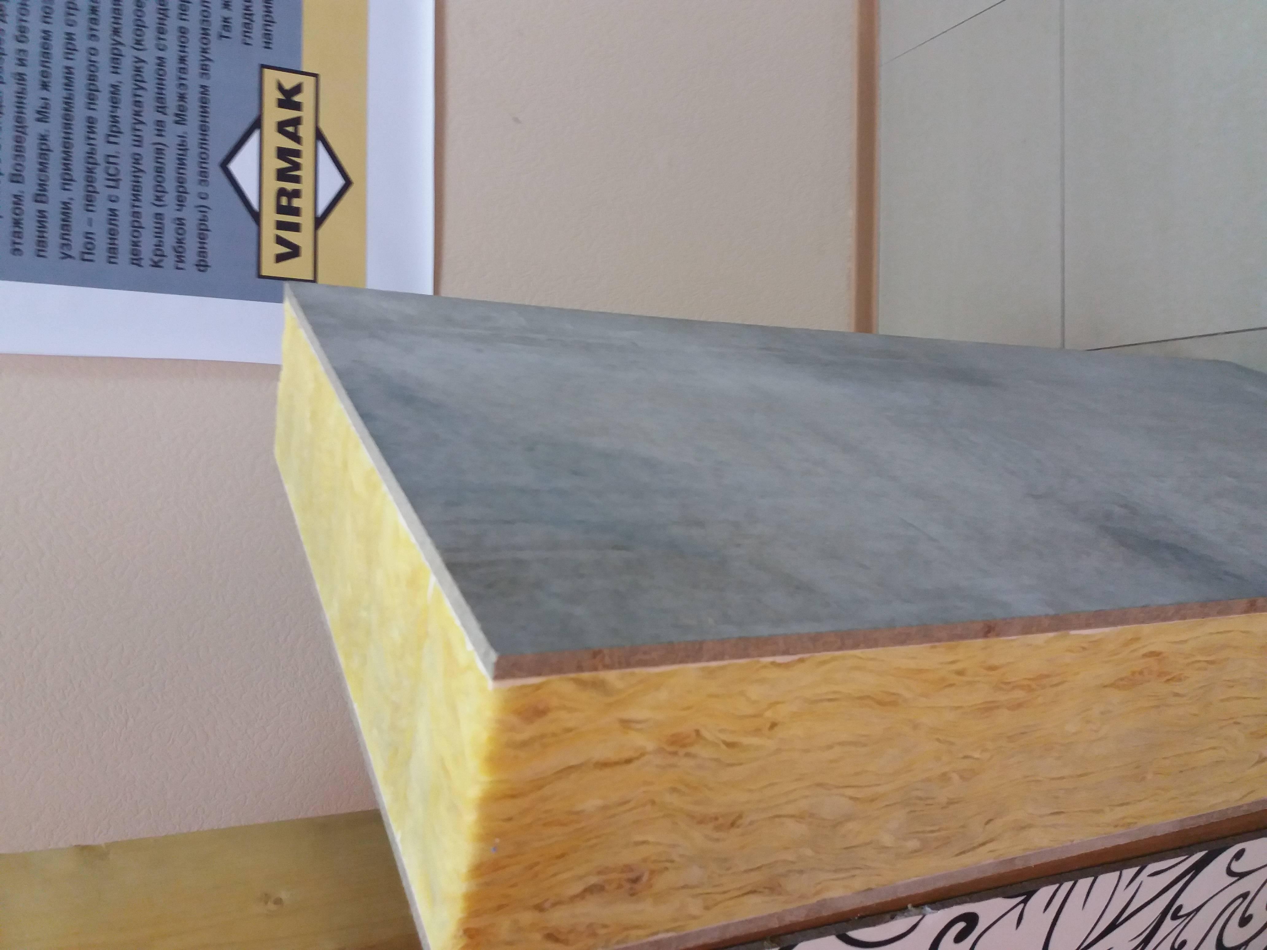 Сип панели из цсп – композит для строительства в холодном влажном климате