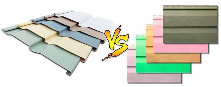 Cайдинг акриловый и виниловый, в чем разница, чем отличаются производители и характеристики?