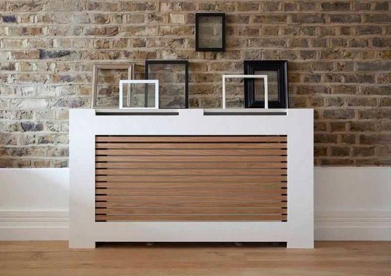 Экран на батарею отопления и радиаторы: решетки и как закрыть в комнате красиво