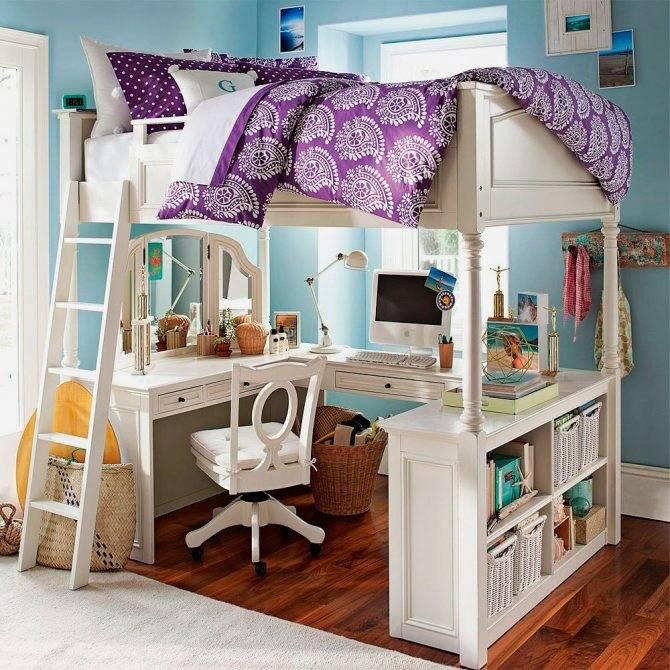 Кровать-чердак для детей от 3 лет, виды конструкций, особенности