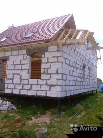 Фундамент ленточно-свайный для дома из пеноблоков — выкладываем суть