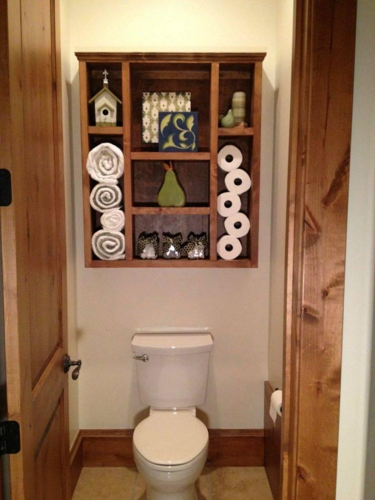 Шкафчики в туалет